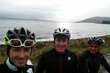 Cheshire CAT Cycling Touring in Scotland 2015