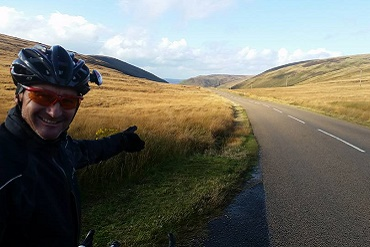 Cheshire CAT athletes cycling in Scotland 2015