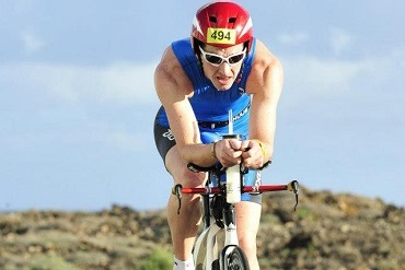 Cheshire CAT triathlete competing in Ironman Lanzarote 70.3