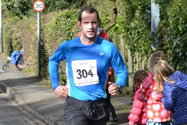 Cheshire CAT triathlete Colin Gill at High Legh 10k 2016