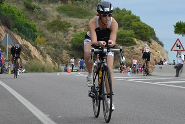 Leila Coulter of Cheshire CAT at Ironman Barcelona 2015