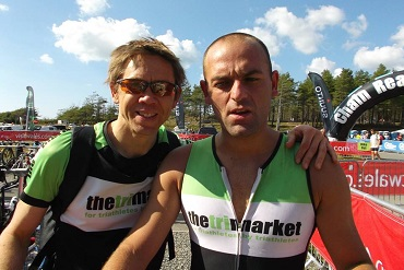 Dan Chesters of Cheshire CAT at Ironman Barcelona 2015
