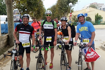 Cheshire CAT triathletes at Ironman Barcelona